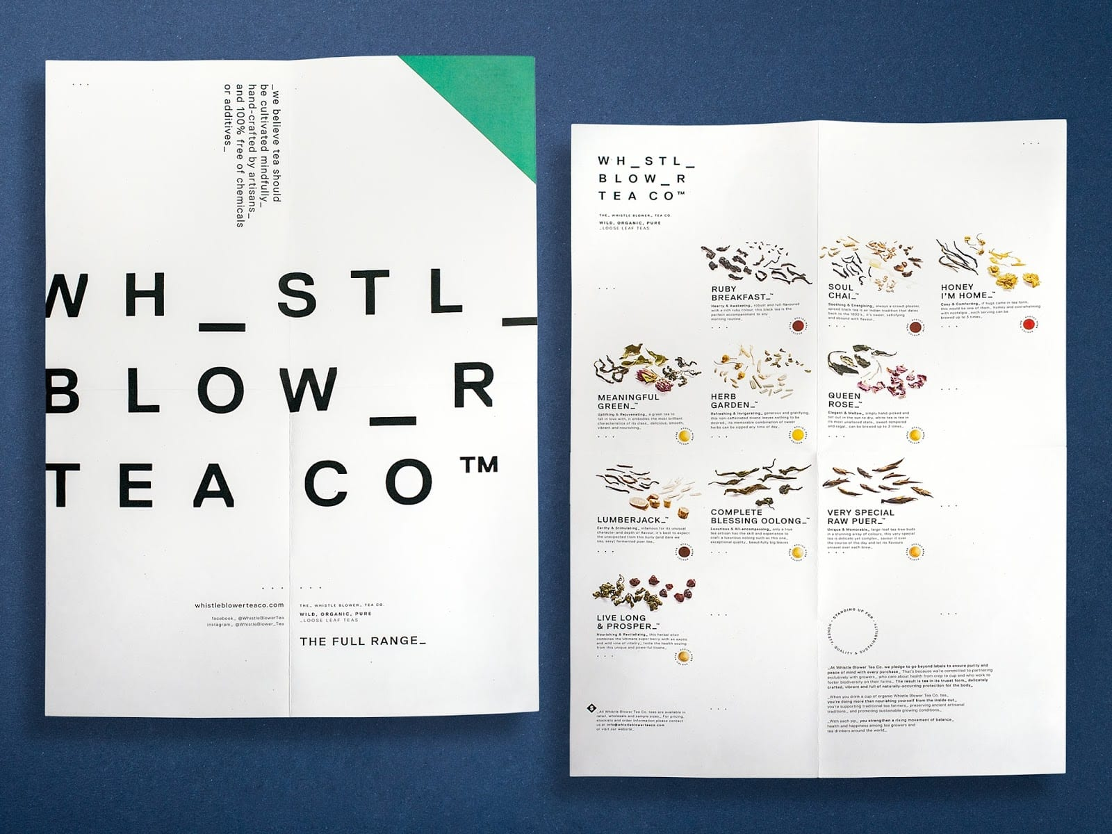 7 BlackSquidDesign Whistle Blower Tea Co Poster - Ach, tie obaly – Whistle Blower Tea Co.