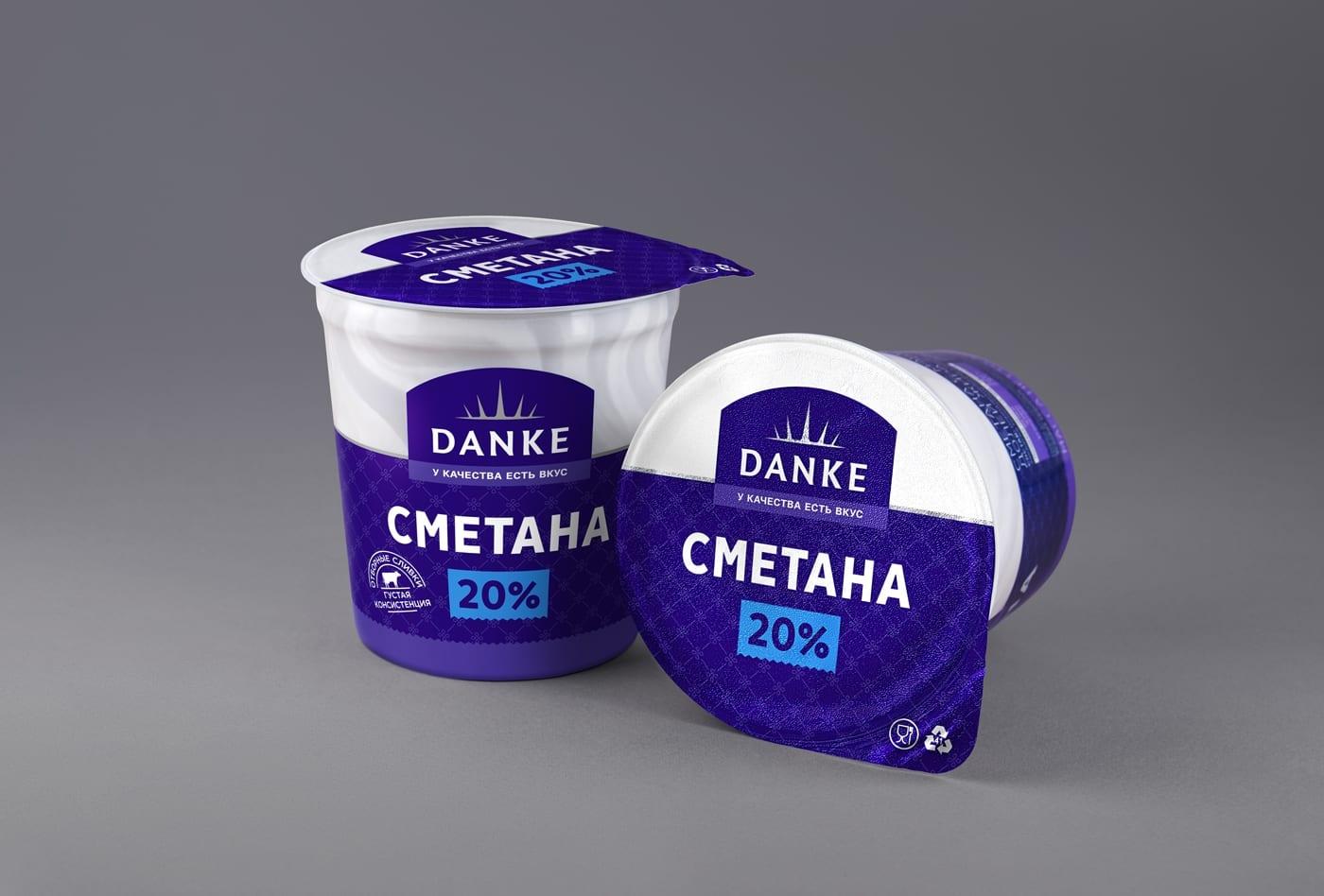 DANKE 1 - Ach, tie obaly – Danke Dairy mléčné výrobky