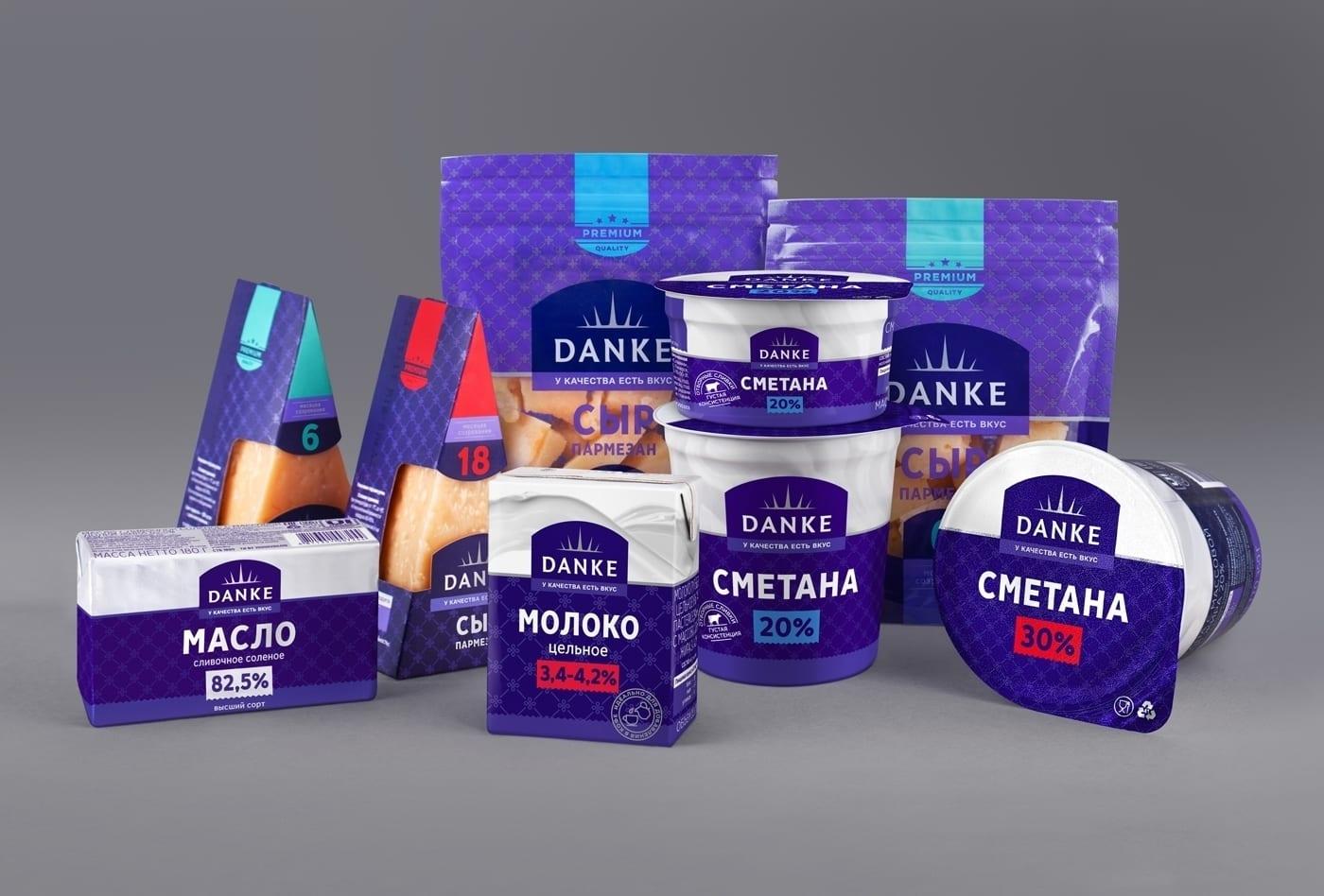 DANKE 10 - Ach, tie obaly – Danke Dairy mléčné výrobky