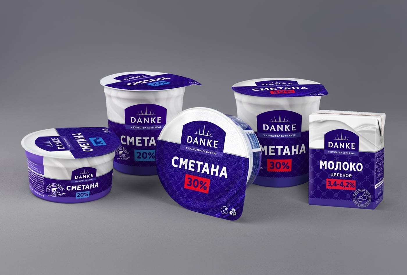 DANKE 2 - Ach, tie obaly – Danke Dairy mléčné výrobky
