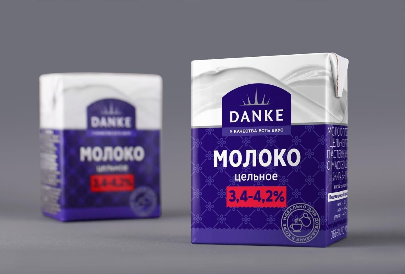 DANKE 3 - Ach, tie obaly – Danke Dairy mléčné výrobky