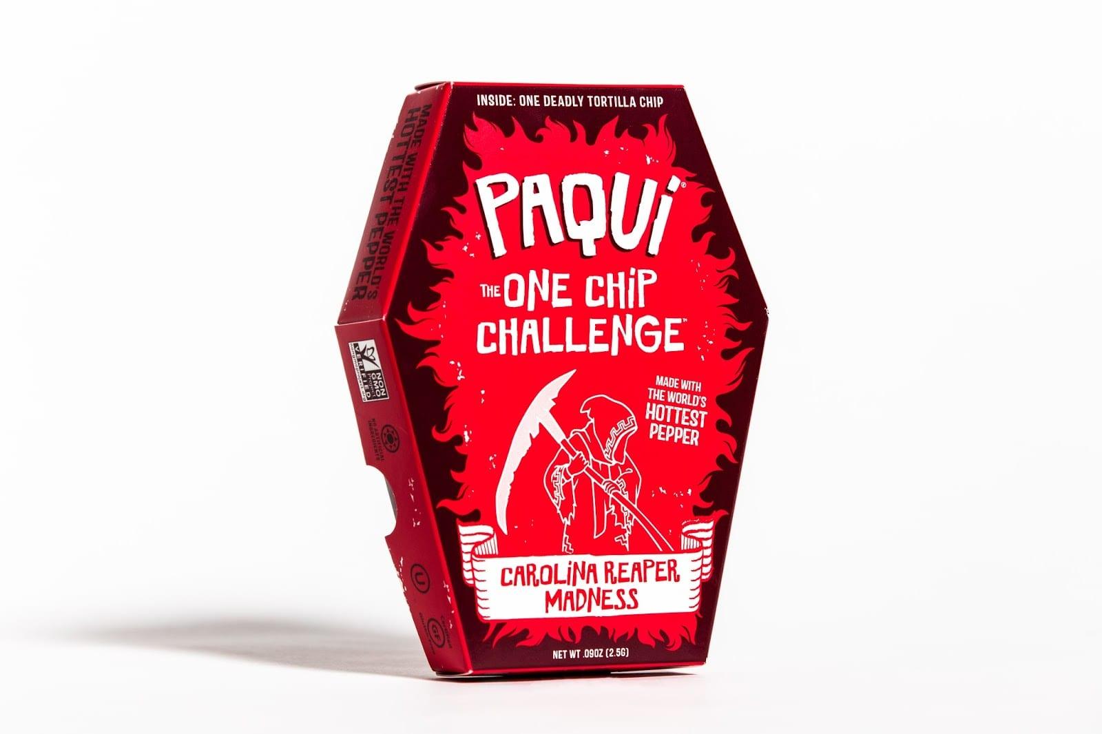 Hottest Chip 04 - Nejpálivější chips na světě – a přichází v rakvi