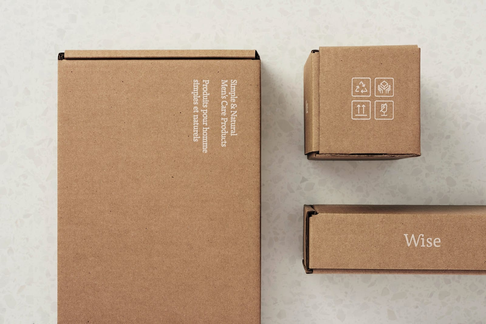 Wise Mens Care Brand Identity and Packaging 013 - Ach, tie obaly – péče Wise Men