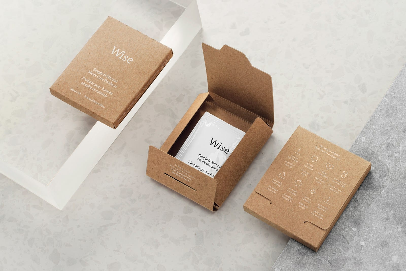 Wise Mens Care Brand Identity and Packaging 015 - Ach, tie obaly – péče Wise Men
