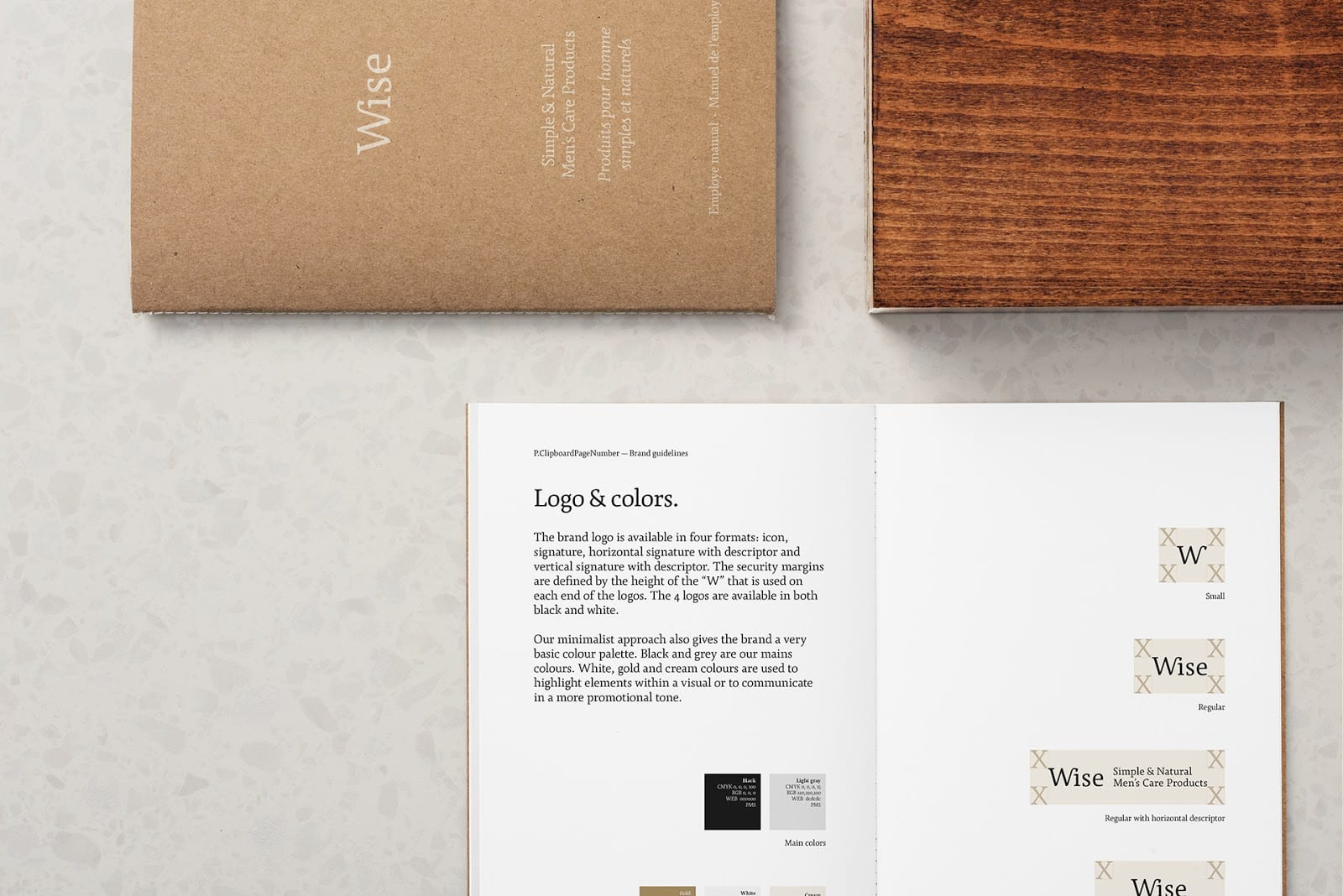 Wise Mens Care Brand Identity and Packaging 016 - Ach, tie obaly – péče Wise Men