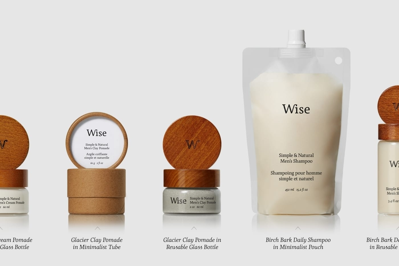Wise Mens Care Brand Identity and Packaging 03 - Ach, tie obaly – péče Wise Men