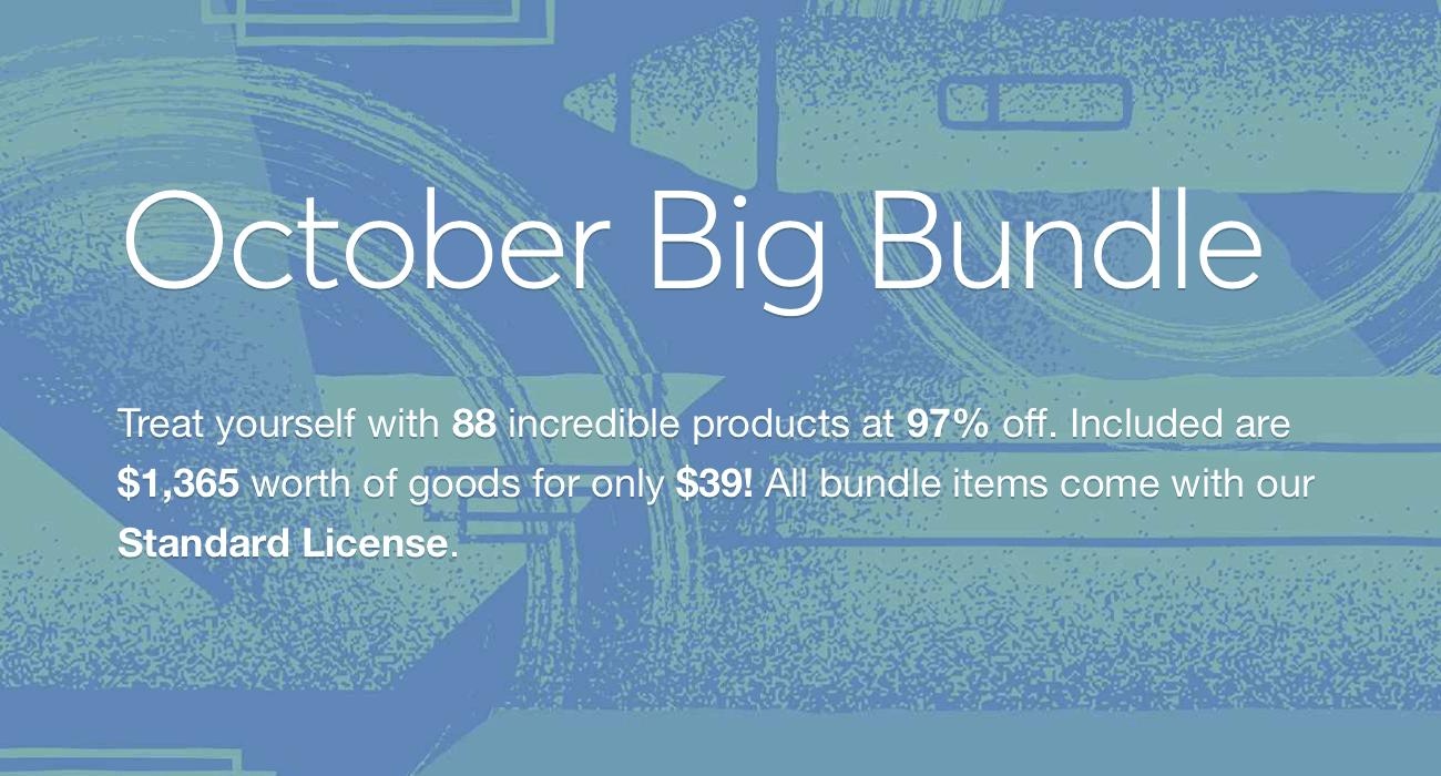 cover - October Big Bundle so zľavou 97%!