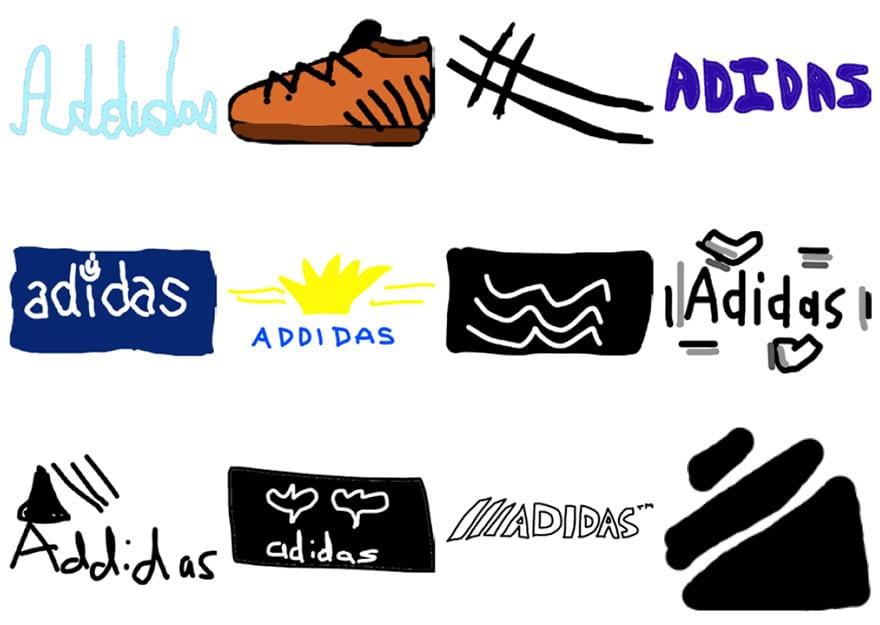 famous brand logos drawn from memory 32 - Více než 150 lidí se pokusilo nakreslit 10 velmi slavných log zpaměti. Výsledky pobaví