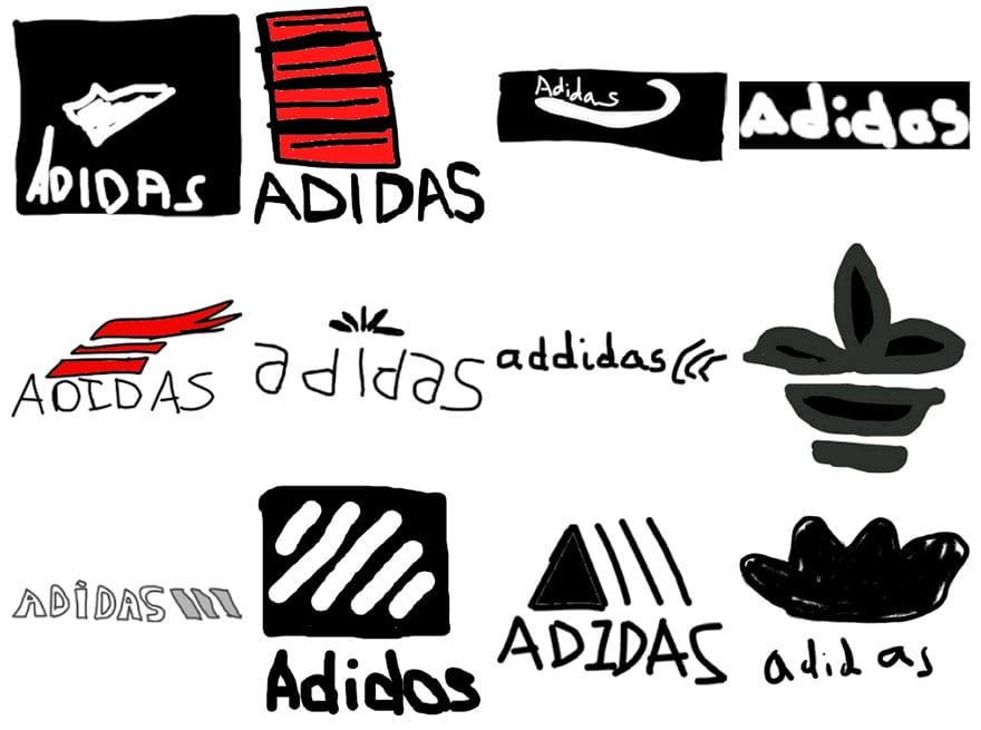 famous brand logos drawn from memory 33 - Více než 150 lidí se pokusilo nakreslit 10 velmi slavných log zpaměti. Výsledky pobaví
