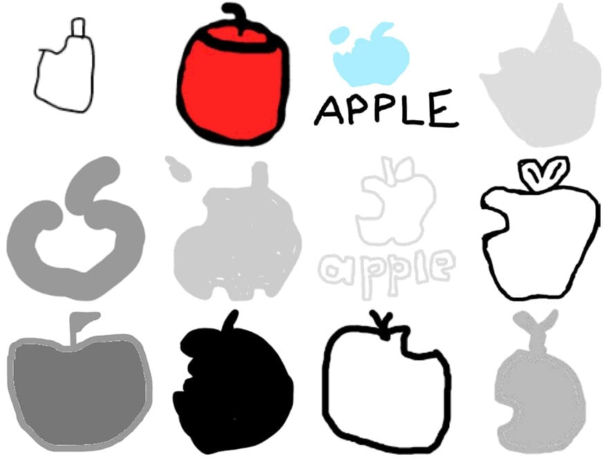famous brand logos drawn from memory 35 - Více než 150 lidí se pokusilo nakreslit 10 velmi slavných log zpaměti. Výsledky pobaví