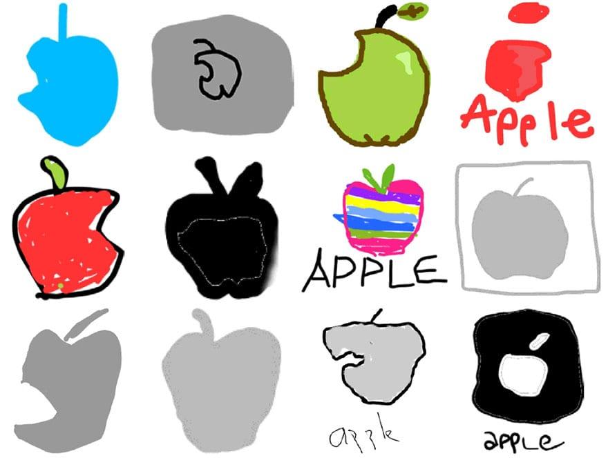 famous brand logos drawn from memory 36 - Více než 150 lidí se pokusilo nakreslit 10 velmi slavných log zpaměti. Výsledky pobaví