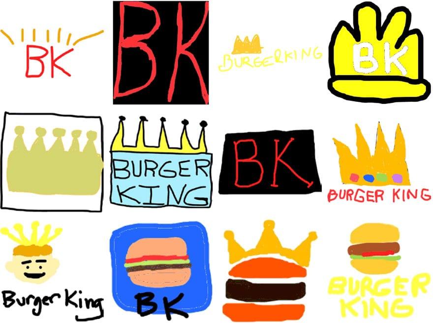 famous brand logos drawn from memory 37 - Více než 150 lidí se pokusilo nakreslit 10 velmi slavných log zpaměti. Výsledky pobaví