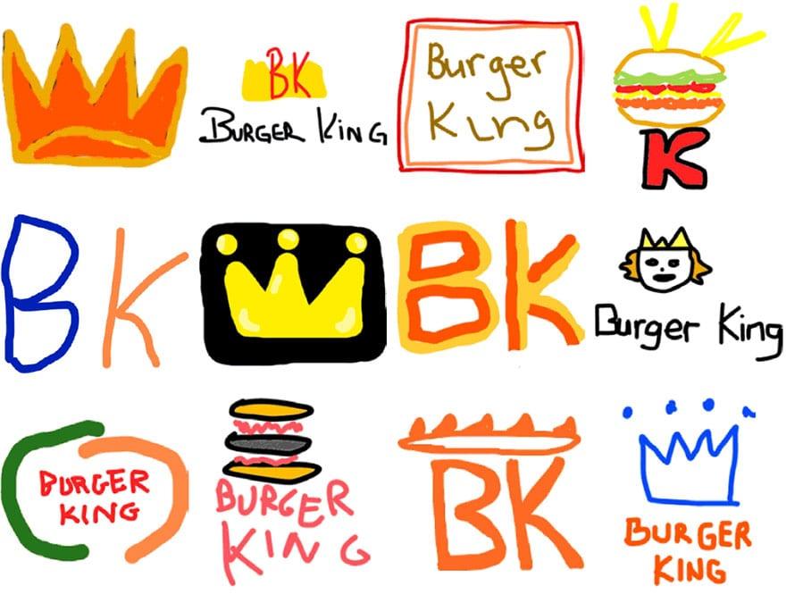 famous brand logos drawn from memory 38 - Více než 150 lidí se pokusilo nakreslit 10 velmi slavných log zpaměti. Výsledky pobaví