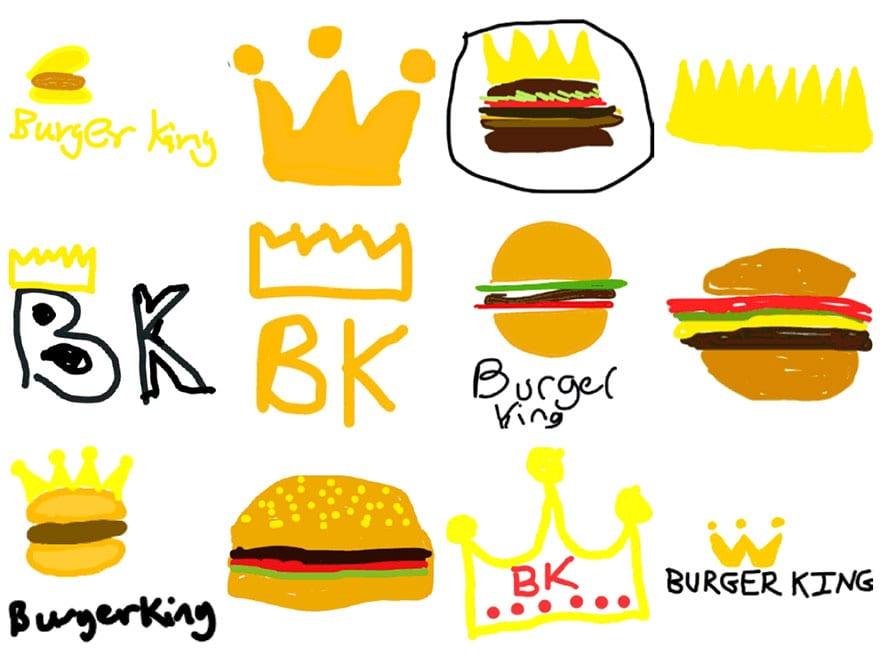 famous brand logos drawn from memory 39 - Více než 150 lidí se pokusilo nakreslit 10 velmi slavných log zpaměti. Výsledky pobaví