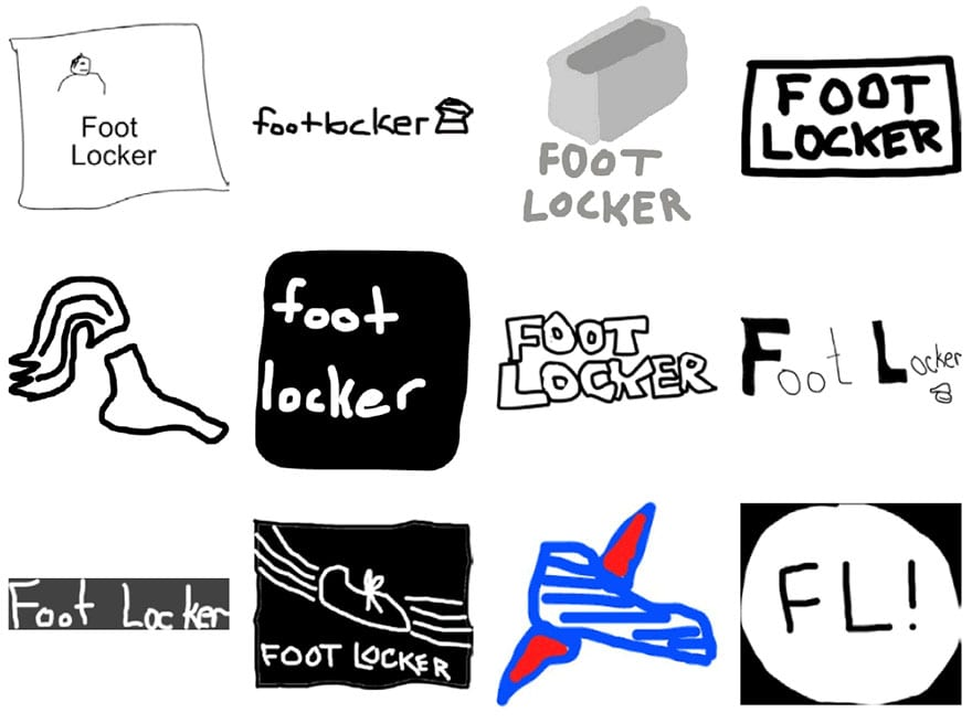 famous brand logos drawn from memory 45 - Více než 150 lidí se pokusilo nakreslit 10 velmi slavných log zpaměti. Výsledky pobaví