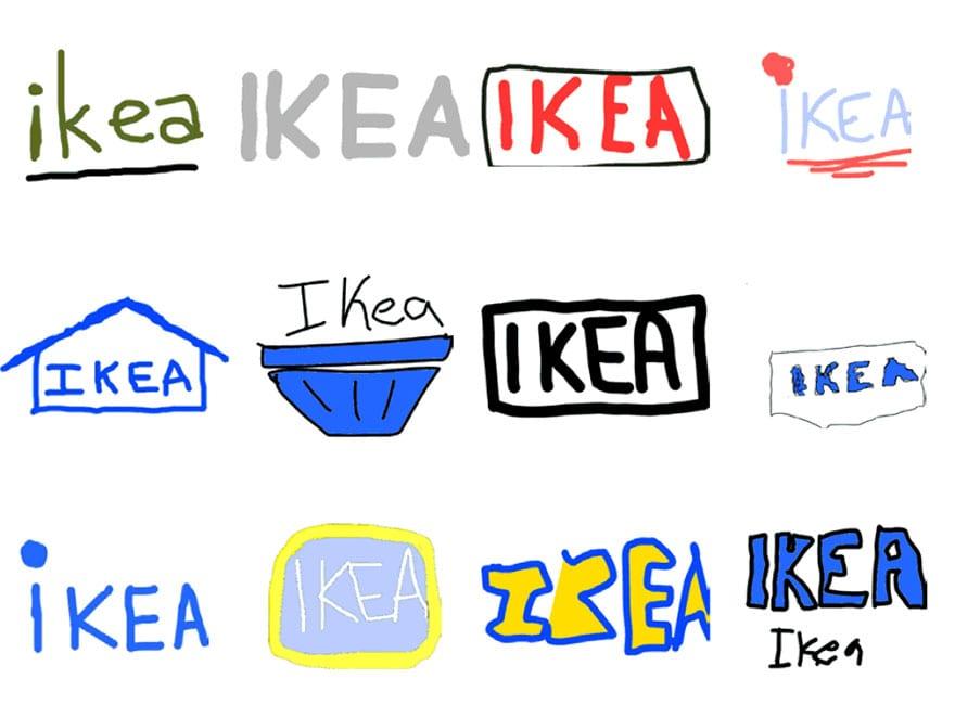 famous brand logos drawn from memory 46 - Více než 150 lidí se pokusilo nakreslit 10 velmi slavných log zpaměti. Výsledky pobaví