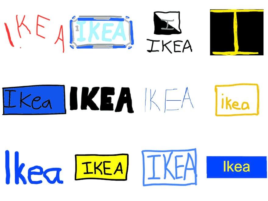 famous brand logos drawn from memory 47 - Více než 150 lidí se pokusilo nakreslit 10 velmi slavných log zpaměti. Výsledky pobaví