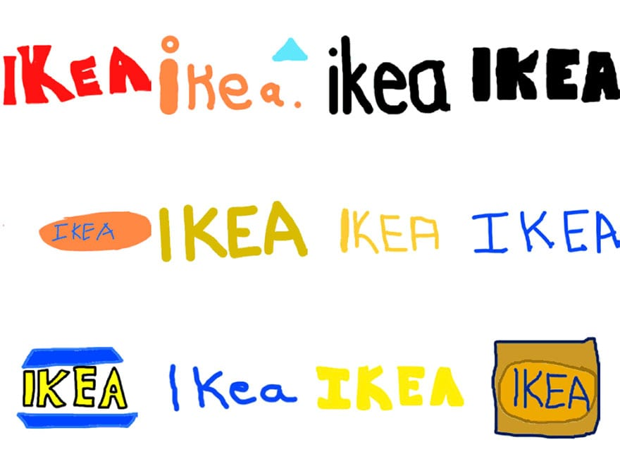 famous brand logos drawn from memory 48 - Více než 150 lidí se pokusilo nakreslit 10 velmi slavných log zpaměti. Výsledky pobaví