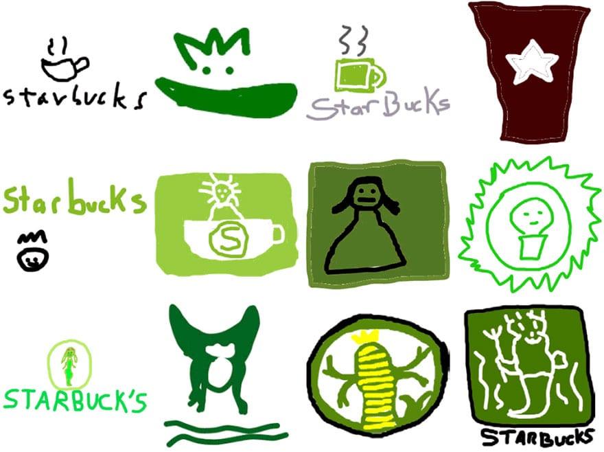 famous brand logos drawn from memory 50 - Více než 150 lidí se pokusilo nakreslit 10 velmi slavných log zpaměti. Výsledky pobaví