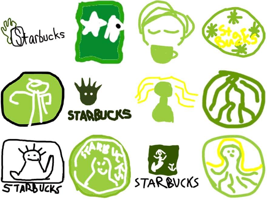 famous brand logos drawn from memory 51 - Více než 150 lidí se pokusilo nakreslit 10 velmi slavných log zpaměti. Výsledky pobaví