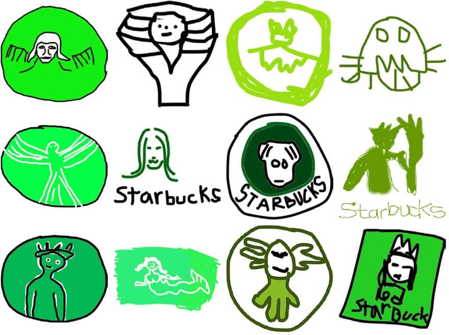 famous brand logos drawn from memory 52 - Více než 150 lidí se pokusilo nakreslit 10 velmi slavných log zpaměti. Výsledky pobaví