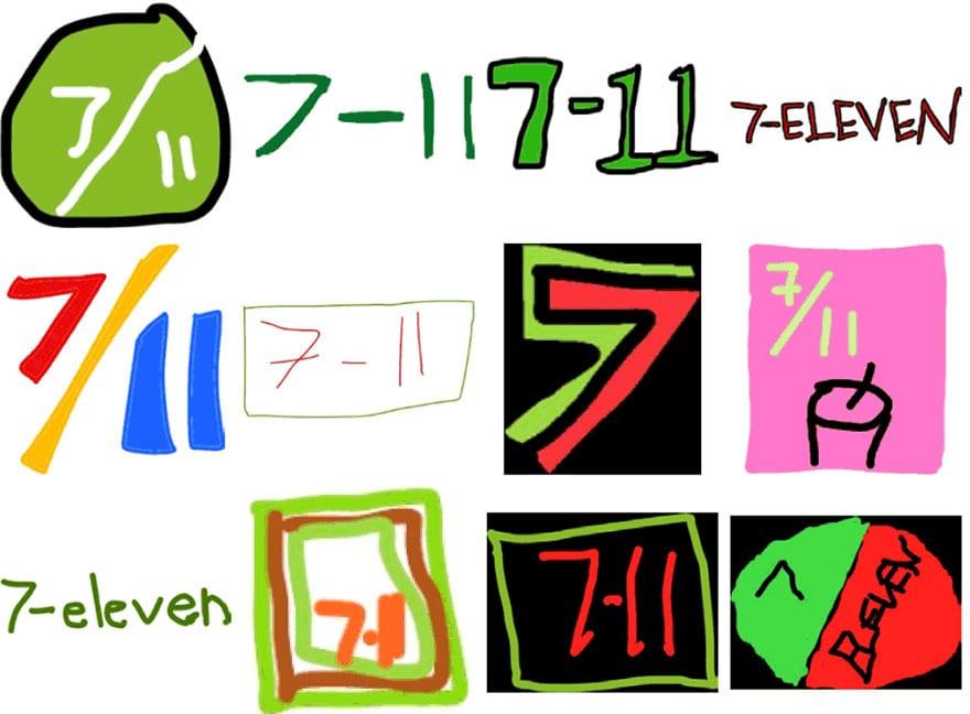 famous brand logos drawn from memory 53 - Více než 150 lidí se pokusilo nakreslit 10 velmi slavných log zpaměti. Výsledky pobaví
