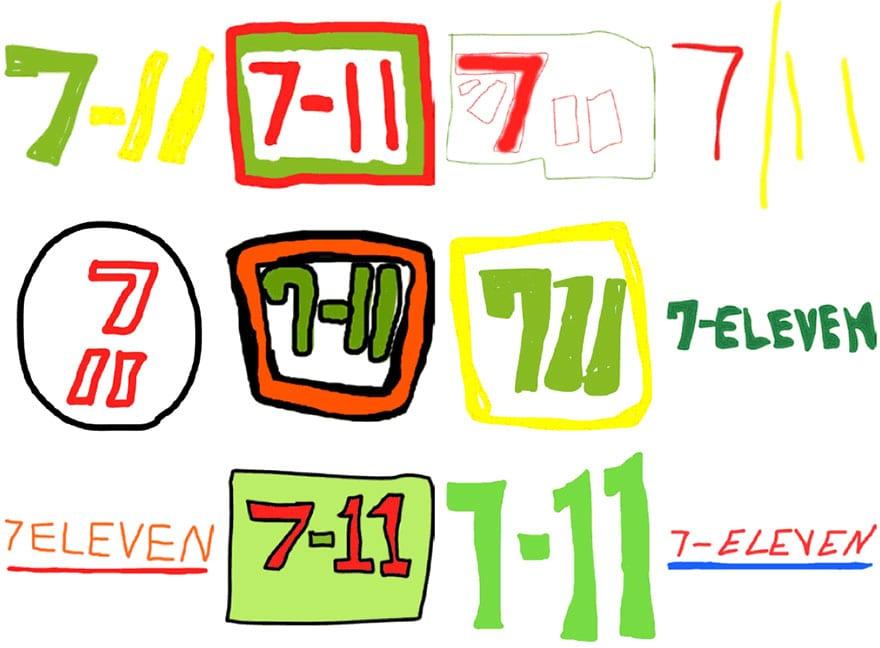 famous brand logos drawn from memory 54 - Více než 150 lidí se pokusilo nakreslit 10 velmi slavných log zpaměti. Výsledky pobaví