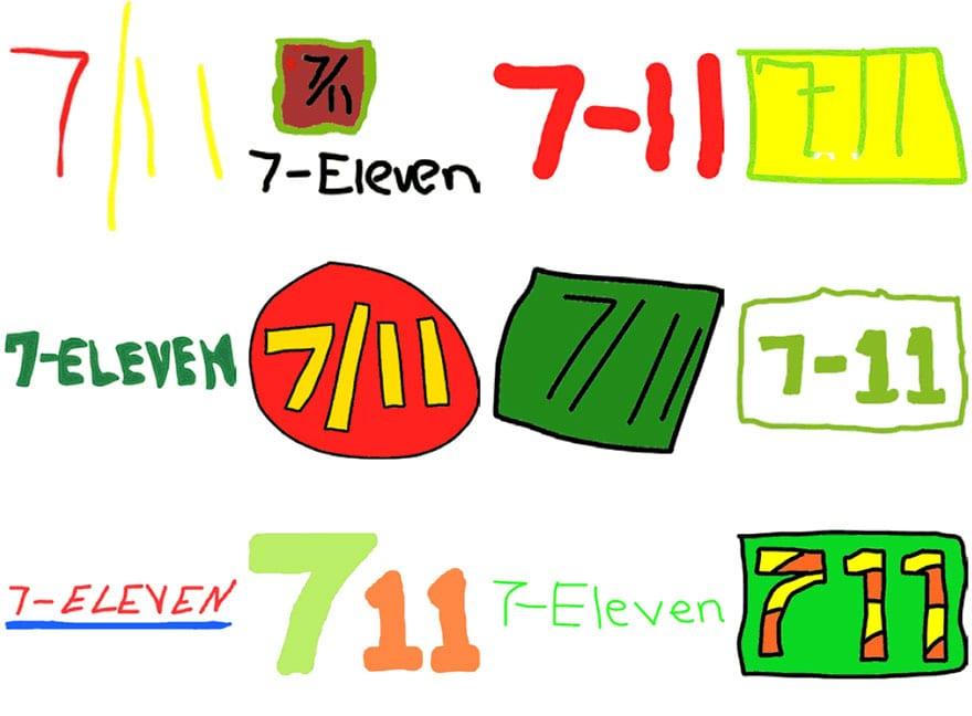 famous brand logos drawn from memory 55 - Více než 150 lidí se pokusilo nakreslit 10 velmi slavných log zpaměti. Výsledky pobaví