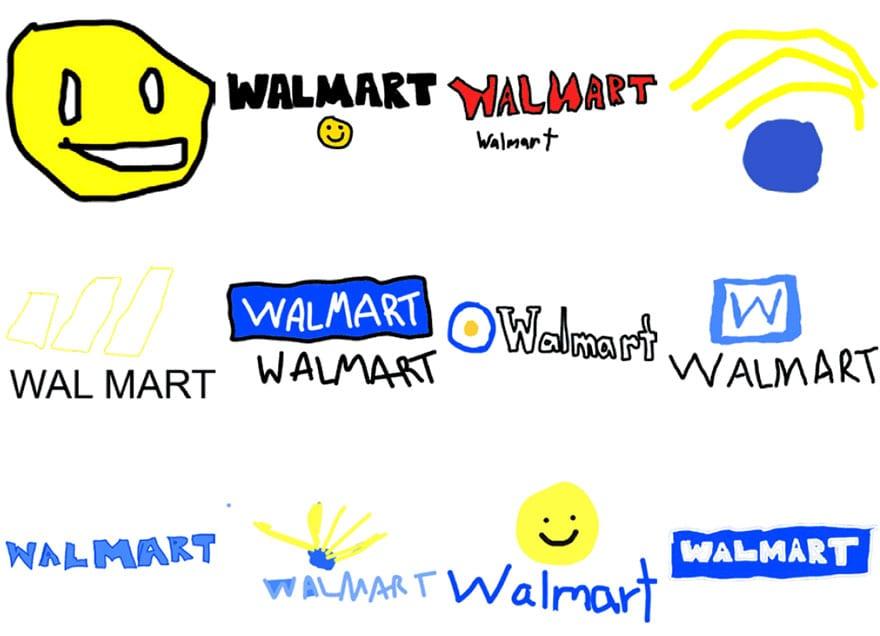 famous brand logos drawn from memory 56 - Více než 150 lidí se pokusilo nakreslit 10 velmi slavných log zpaměti. Výsledky pobaví