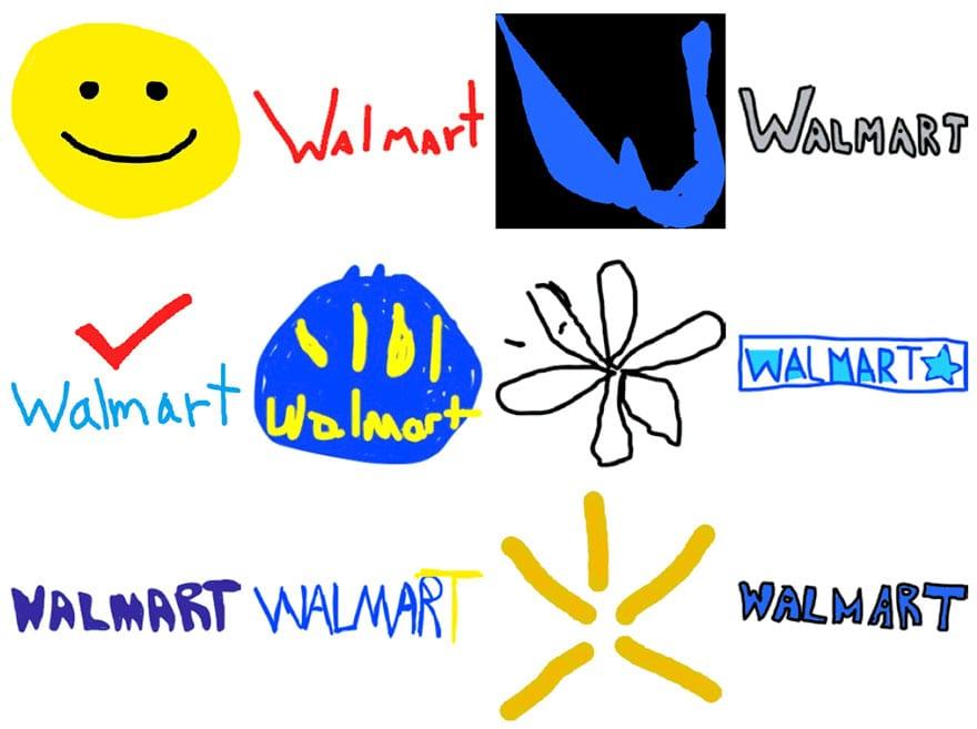 famous brand logos drawn from memory 57 - Více než 150 lidí se pokusilo nakreslit 10 velmi slavných log zpaměti. Výsledky pobaví