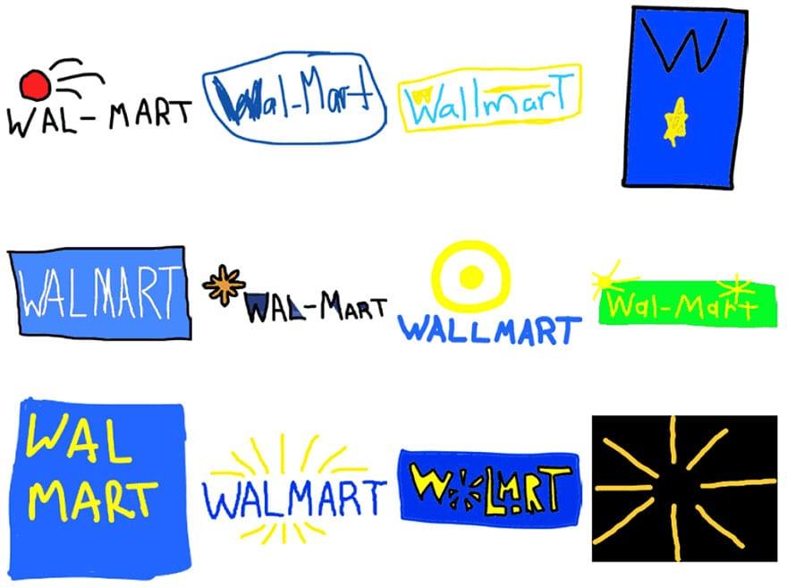 famous brand logos drawn from memory 58 - Více než 150 lidí se pokusilo nakreslit 10 velmi slavných log zpaměti. Výsledky pobaví