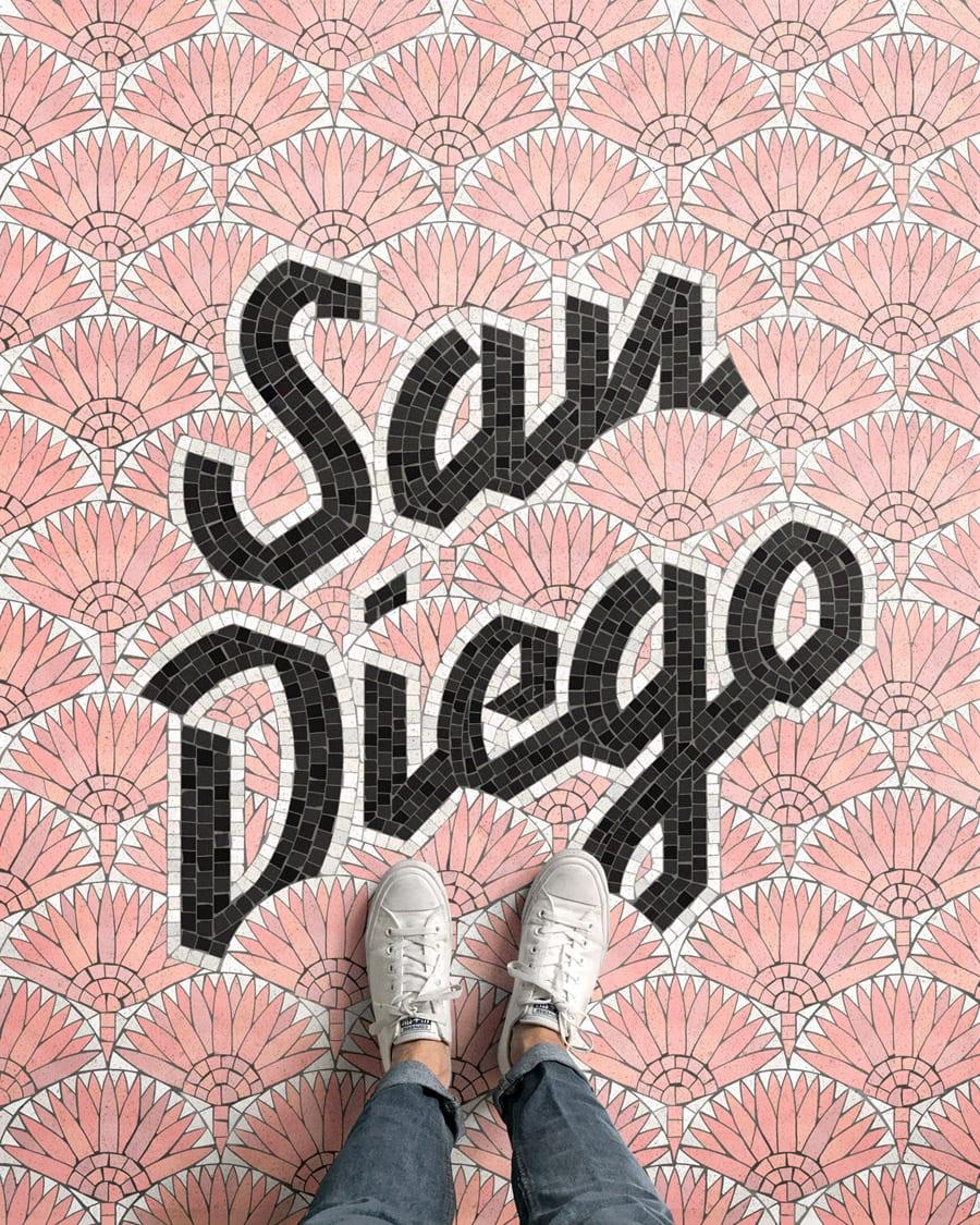 tumblr opdrvuR2nu1w8ix4xo1 1280 - Pestrofarebné mozaiky od talentovaného kreatívca