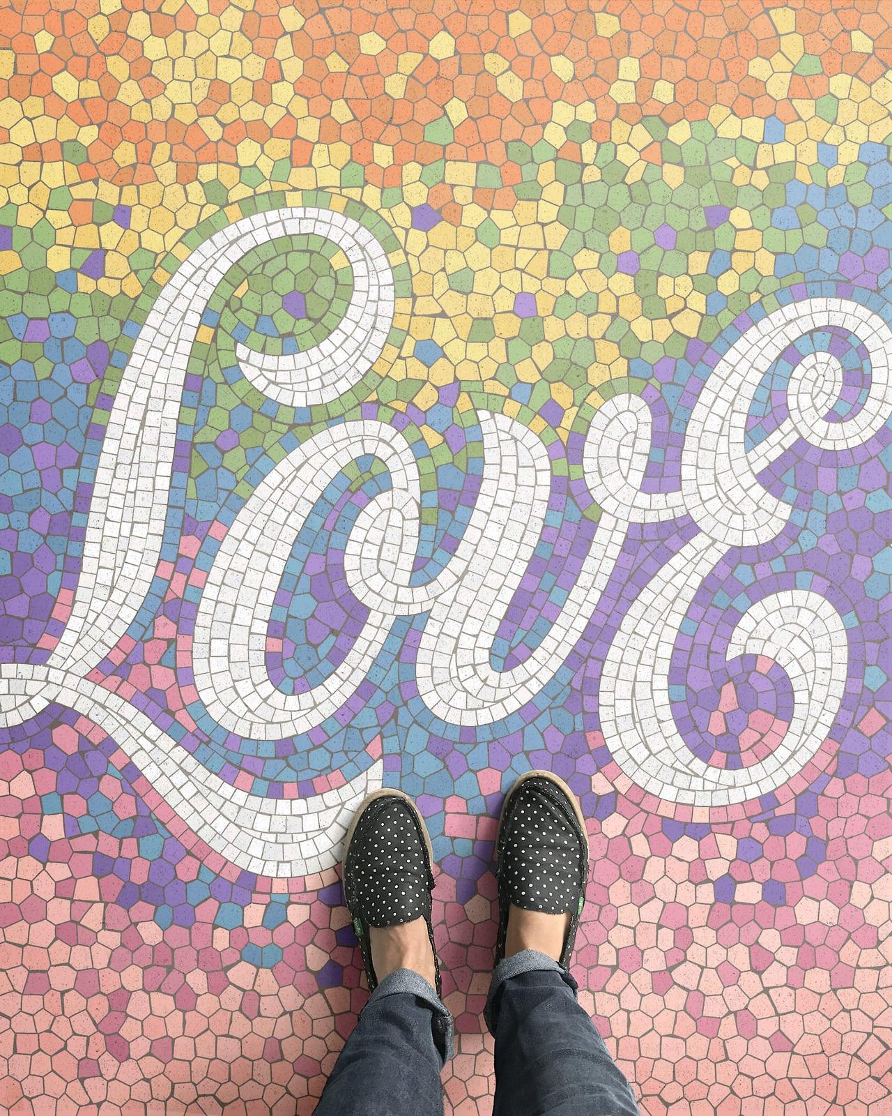tumblr os3w3t3PQC1w8ix4xo1 1280 - Pestrofarebné mozaiky od talentovaného kreatívca