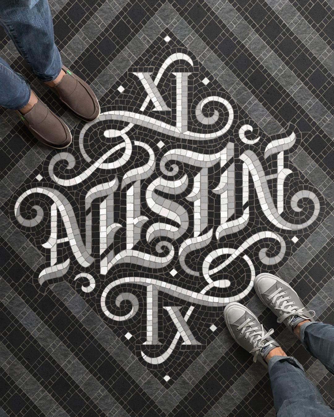 tumblr osohip117T1w8ix4xo1 1280 - Pestrofarebné mozaiky od talentovaného kreatívca