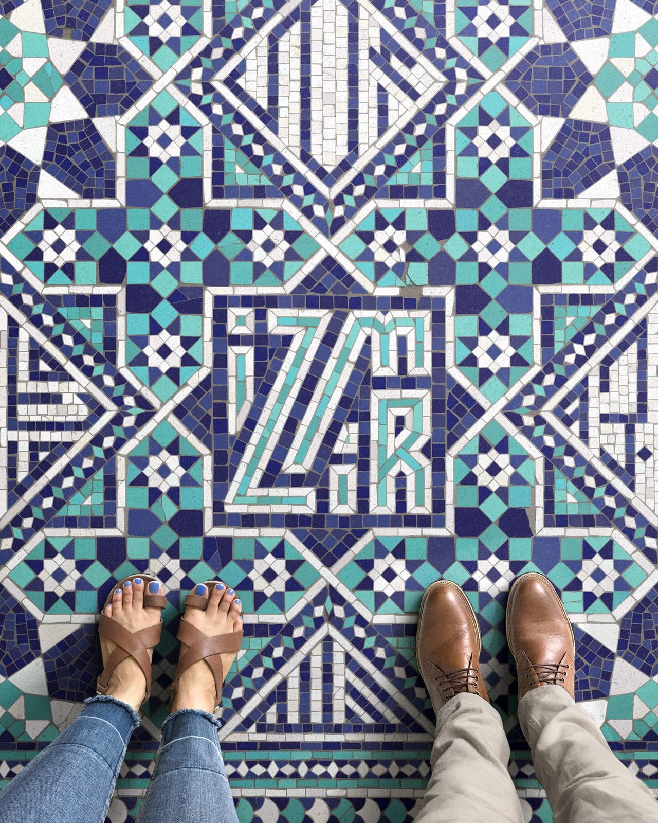 tumblr ott2y3fIIE1w8ix4xo1 1280 - Pestrofarebné mozaiky od talentovaného kreatívca