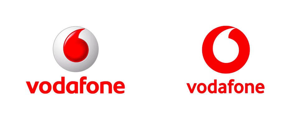 voda - Nové logo Vodafone