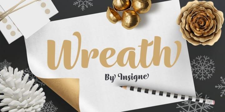 221078 - Font dňa – Wreath