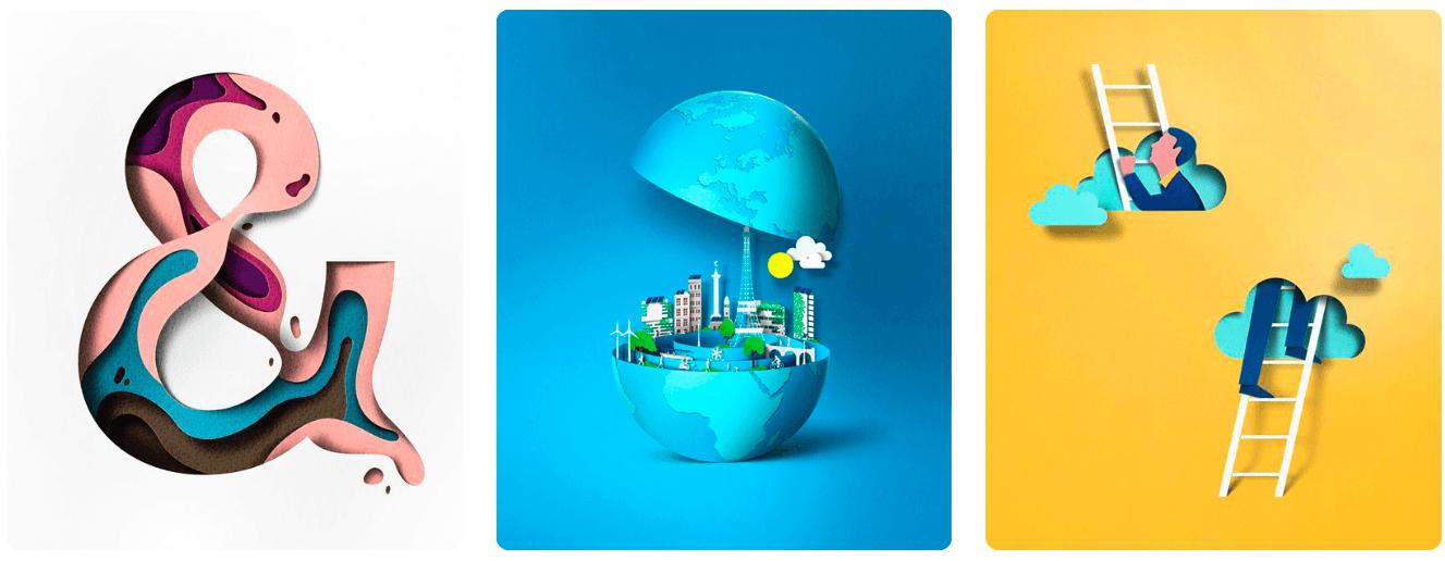 22a - Trendy v grafickém designu pro rok 2018