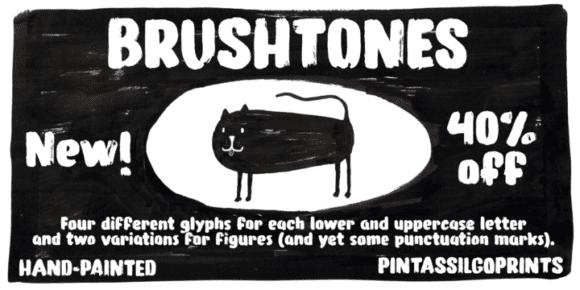 245910 580x290 - Font dňa – Brushtones