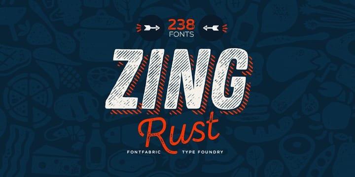 249940 - Font dňa – Zing Rust