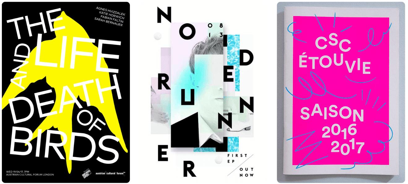 9a - Trendy v grafickém designu pro rok 2018