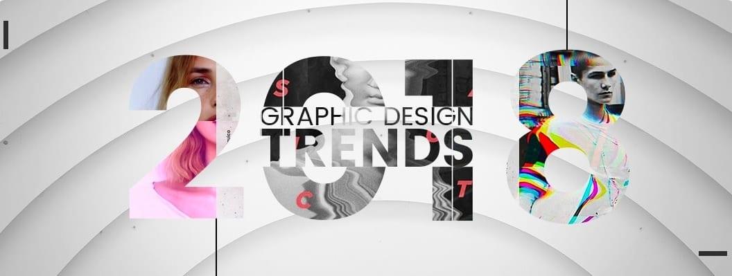 a - Trendy v grafickém designu pro rok 2018
