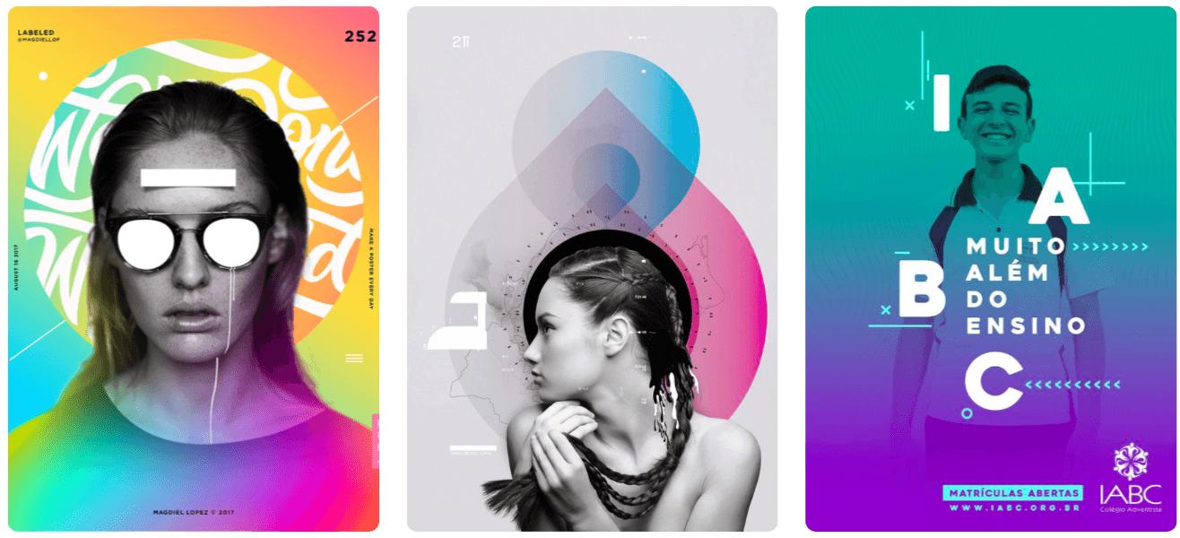 blaj - Trendy v grafickém designu pro rok 2018