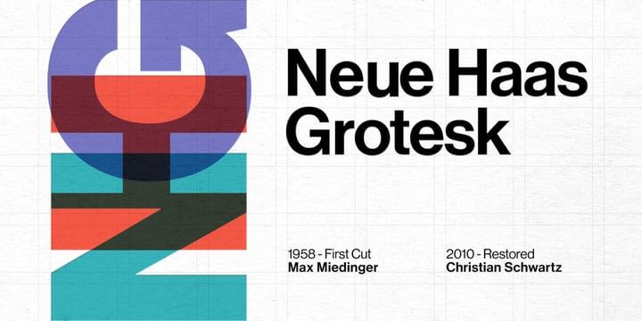 235316 - Font dňa – Neue Haas Grotesk