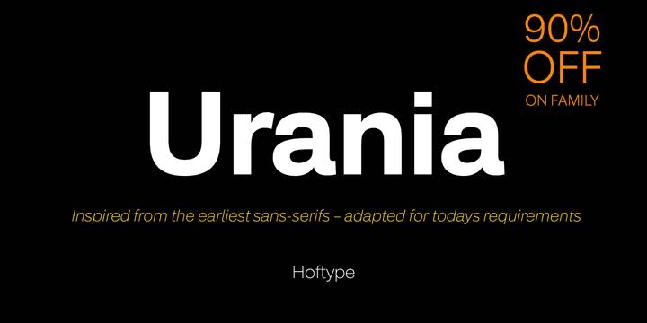 247754 - Font dňa – Urania