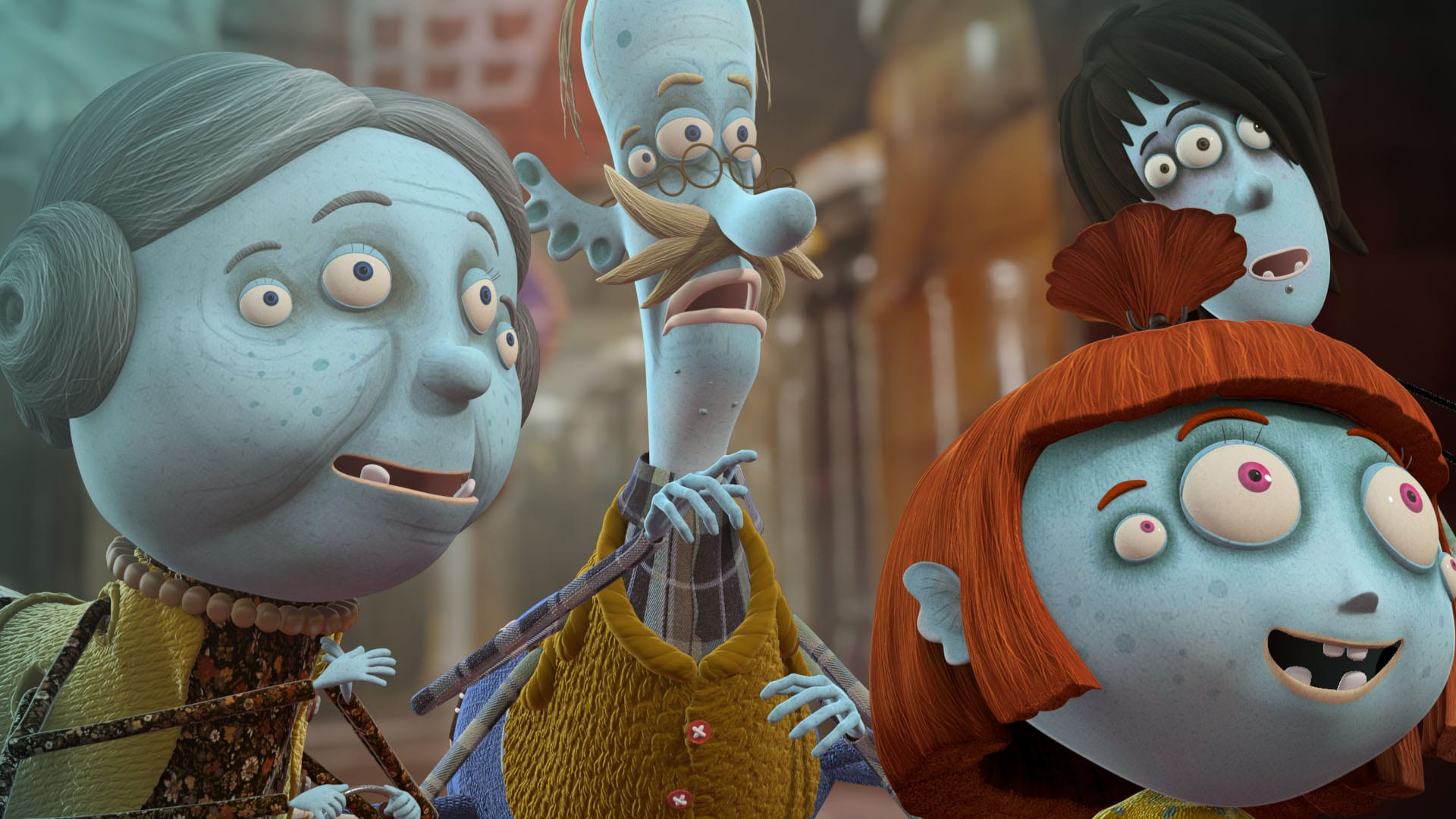 Websterovci serial 01 - RTVS počas Vianoc uvedie prvý slovenský 3D animovaný seriál Websterovci