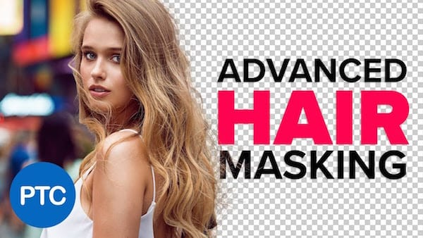 1 Watch Mask Hair Busy Backgrounds Tutorial - Sledujte: Jak efektivně maskovat vlasy na pozadí ve Photoshopu