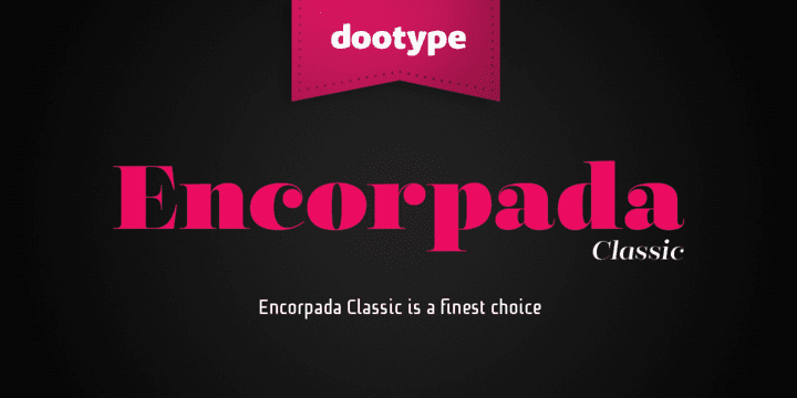 118298 - Font dňa – Encorpada Classic