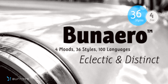 253733 580x290 - Font dňa – Bunaero Pro