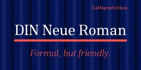 254782 580x290 - Font dňa – DIN Neue Roman